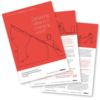 The Team_Delivering value in a changing world_White paper